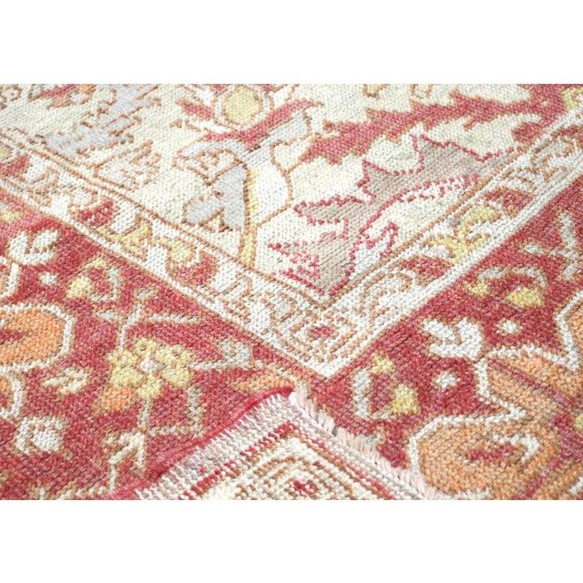 "1920s Turkish Oushak Carpet - 8'3"" X 12'7"" For Sale - Image 4 of 7"