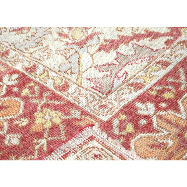 "Nalbandian - 1920s Turkish Oushak Carpet - 8'3"" X 12'7"" For Sale In Los Angeles - Image 6 of 7"