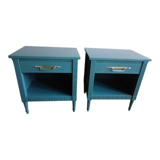 Furniture Guild of California High Gloss Nightstands - A Pair