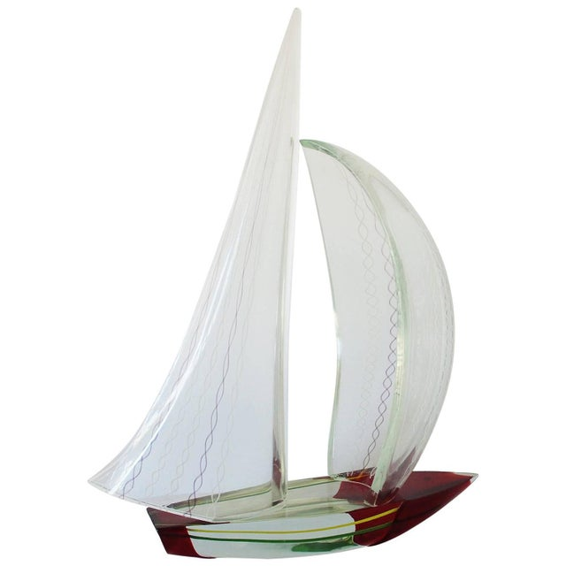 Sailboat Sculpture by Alberto Dona' For Sale - Image 10 of 10