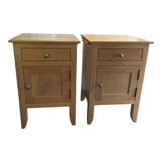 Borkholder Nightstands a Pair Tonya Amish For Sale