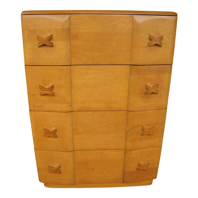 Heywood Wakefield Rio Champagne Maple Dresser For Sale