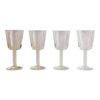 Vintage Rosenthal Frosted Stem Cordial Glasses – Set of 4 For Sale