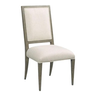 Woodbridge Callisto Taper Leg Side Dining Chair For Sale