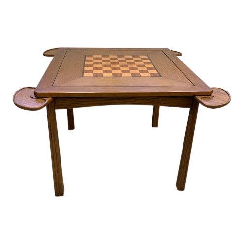 Vintage Brandt Ranch Ranch Oak Gaming Table For Sale