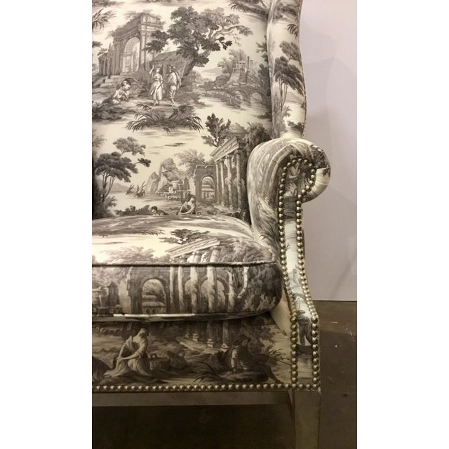 Textile Currey & Co. Kingswood Chairs - A Pair For Sale - Image 7 of 9