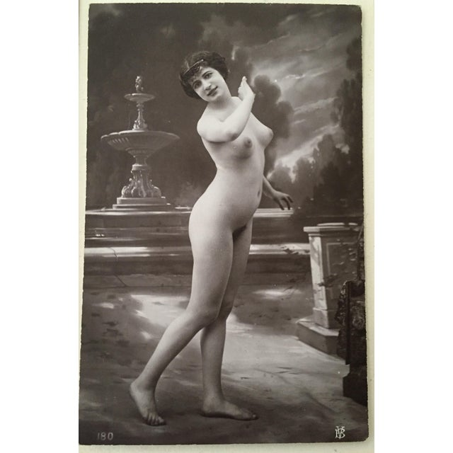 Antique French Studio Nude Female Photograph C1900 For Sale In New York - Image 6 of 6