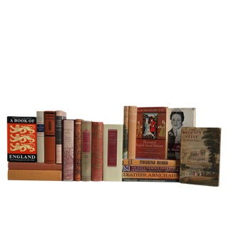 Harvest of British History & Culture : Set of Twenty Decorative Books For Sale