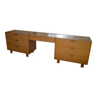 Herman Miller, George Miller Bedroom Dresser With Lighted Vanity Mirror