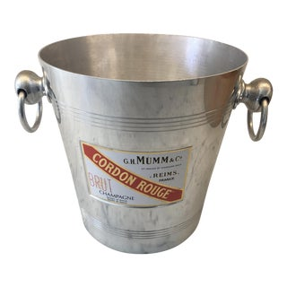 Vintage G. H. Mumm & Co. Cordon Rouge French Champagne Bucket