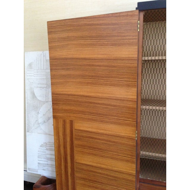 Rosewood Art Deco French Cabinet - Image 4 of 8