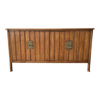 1960s Vintage Mid Century Heritage Buffet Sideboard For Sale