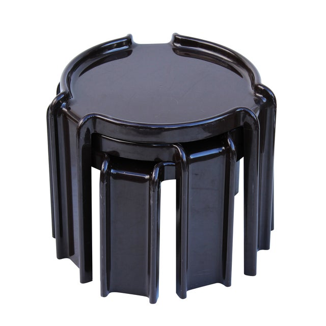 Giotto Stoppino Stacking Tables - Set of 3 - Image 1 of 7