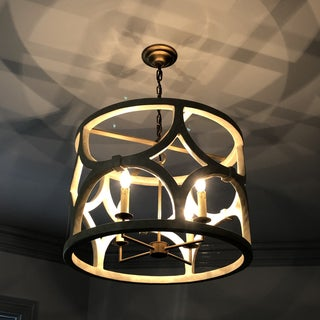 Mr Brown Wolfgang Chandelier in Antique White Gesso Preview