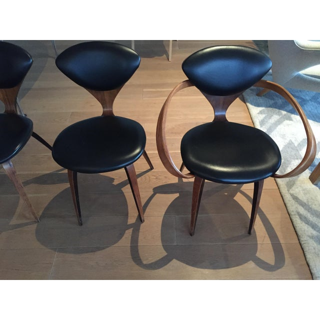Norman Cherner Antique Chairs - Set of 4 - Image 10 of 11