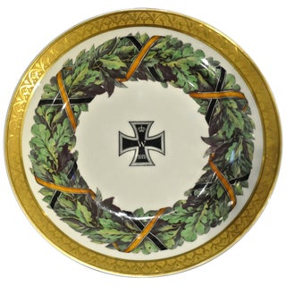 Imperial German Porcelain Plate Neoclassical Kpm Berlin For Sale