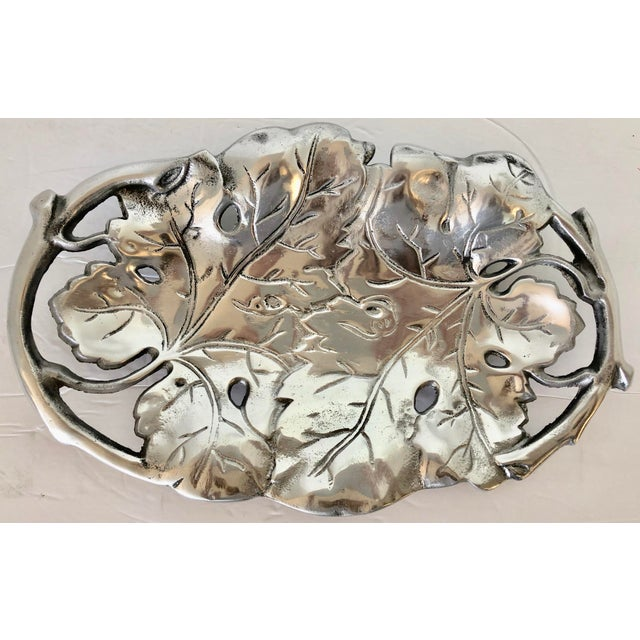 Aluminum Grape Leaves Centerpiece For Sale In Miami - Image 6 of 6
