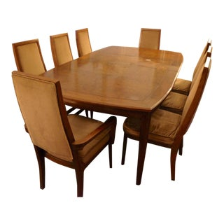 Vintage Mid-Century Complete Dining Room Set, Cal-Mode California For Sale