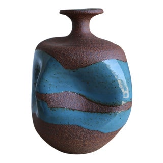 Contemporary Sculptural Ceramic Vase by Tim Keenan For Sale