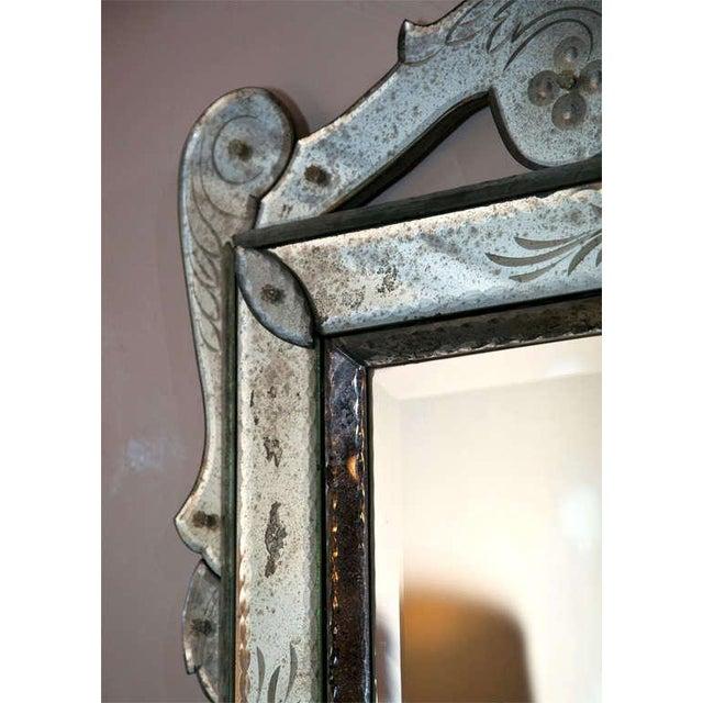 Venetian Glass Wall Mirror - Image 5 of 6