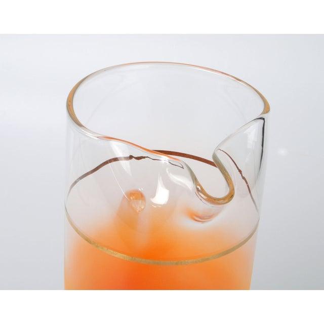 Orange Ombré Pitcher - Image 3 of 6