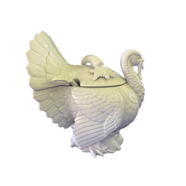 Fitz & Floyd Turkey Ceramic Soup Tureen For Sale - Image 4 of 12