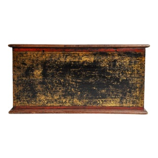1850's Vintage Burmese Manuscript Chest For Sale
