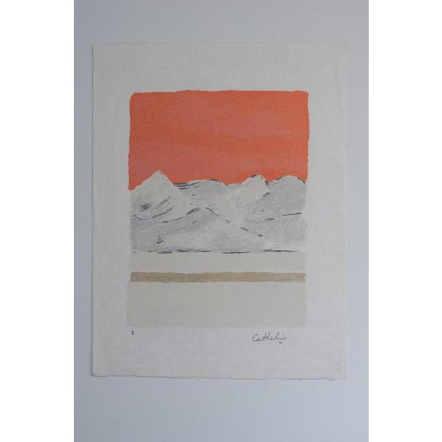 "1980s Bernard Cathelin ""Haiku"" Lithograph Print For Sale - Image 9 of 9"