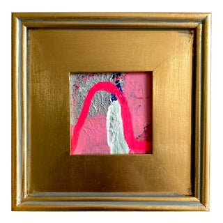 """Jessalin Beutler """"Uplifting Drive"""" 2021 Framed Mini Painting For Sale"""