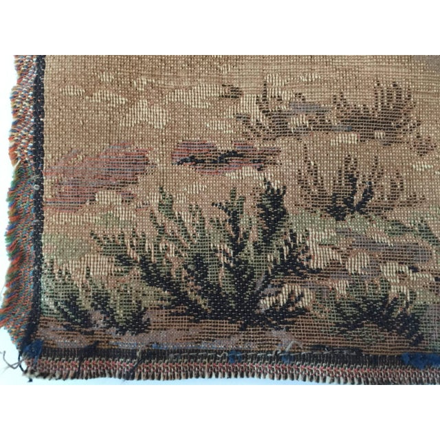 Islamic Orientalist Arabs on Horse Hunting Scene Tapestry For Sale - Image 3 of 7