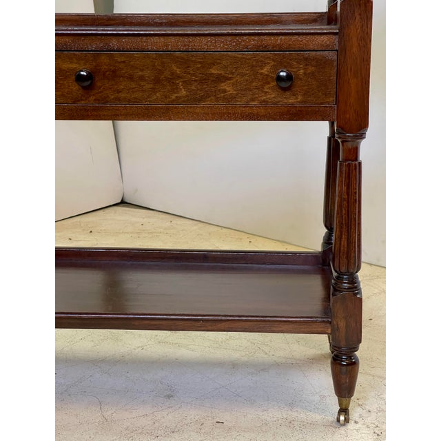 English Regency Trolley of Mahogany For Sale - Image 9 of 13