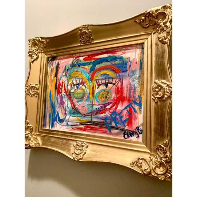 Abstract Abstract Face by Ebony Boyd For Sale - Image 3 of 5