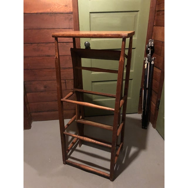 American Early 20th Century American Metamorphic Library Ladder Steps For Sale - Image 3 of 13