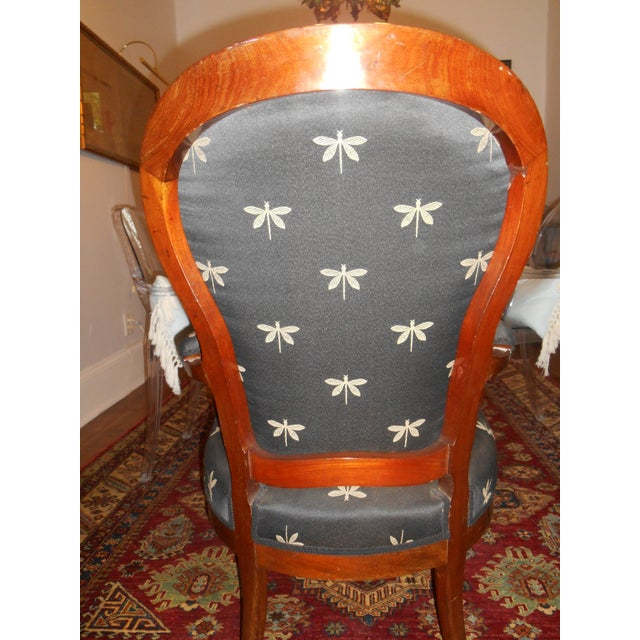 The School of Paris Louis XV Fauteuil Chairs - a Pair For Sale - Image 3 of 5