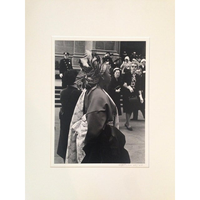 1960s 1963 Nyc Easter Day Parade PhotoBlack and White For Sale - Image 5 of 6