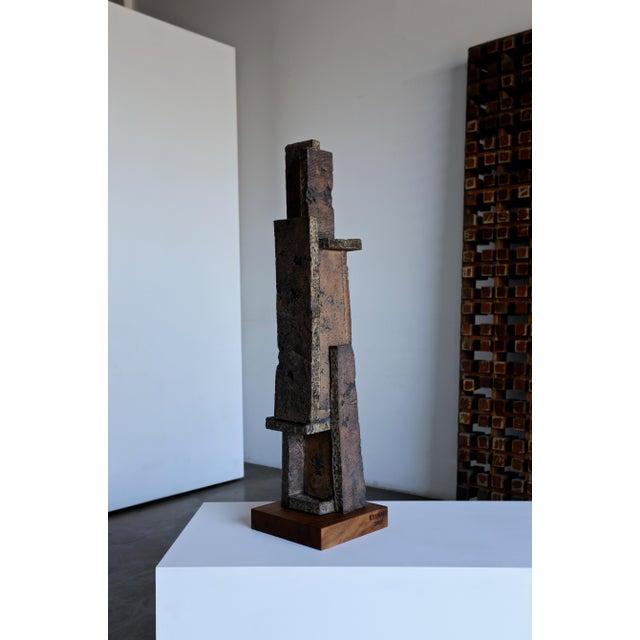 Tim Keenan Large Scale Ceramic Sculpture For Sale - Image 11 of 13