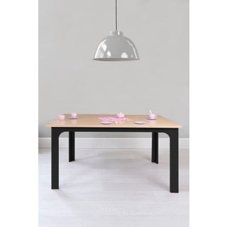 "Craft Kids 42"" Table in Birch With Black Finish Preview"