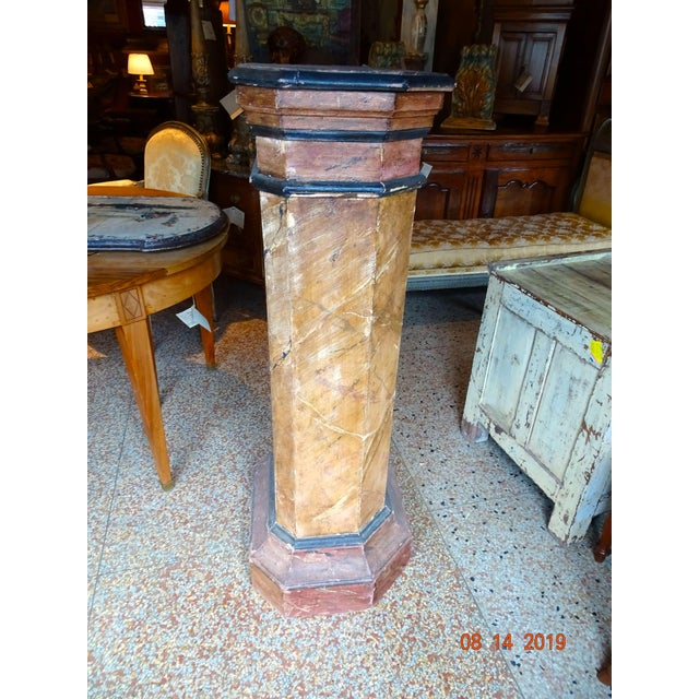 Mid 19th Century 19th Century Italian Pedestal For Sale - Image 5 of 11
