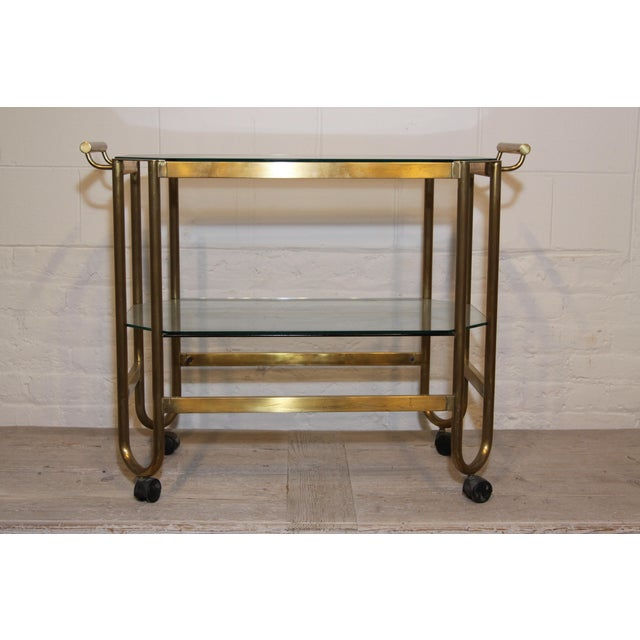 French 1940s Bar Cart For Sale - Image 4 of 4