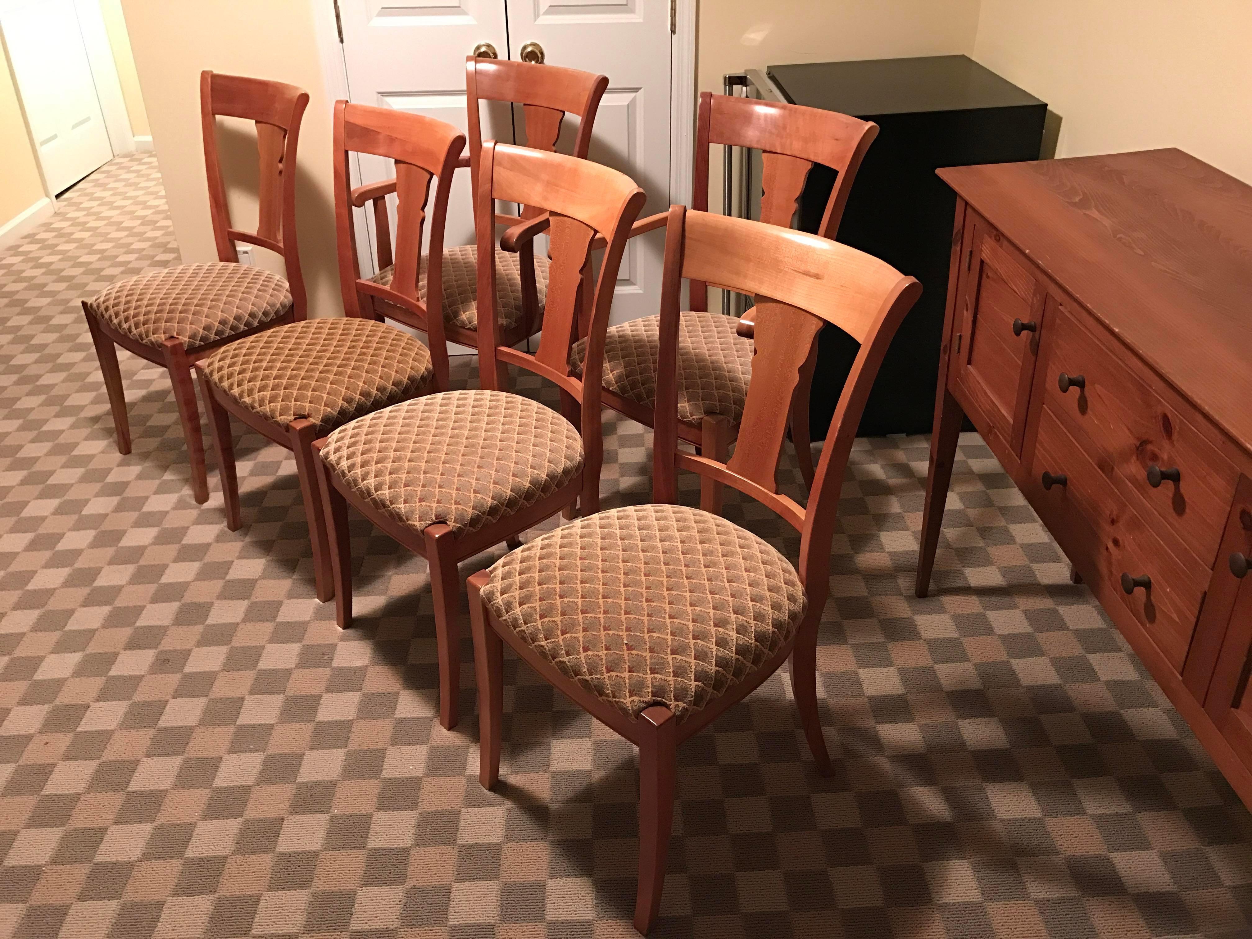 Grange Furniture Directoire Rochambeau Chairs   Set Of 6   Image 3 Of 11