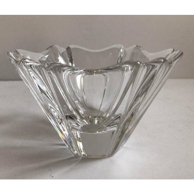Orrefors Crystal Bowl For Sale - Image 5 of 5