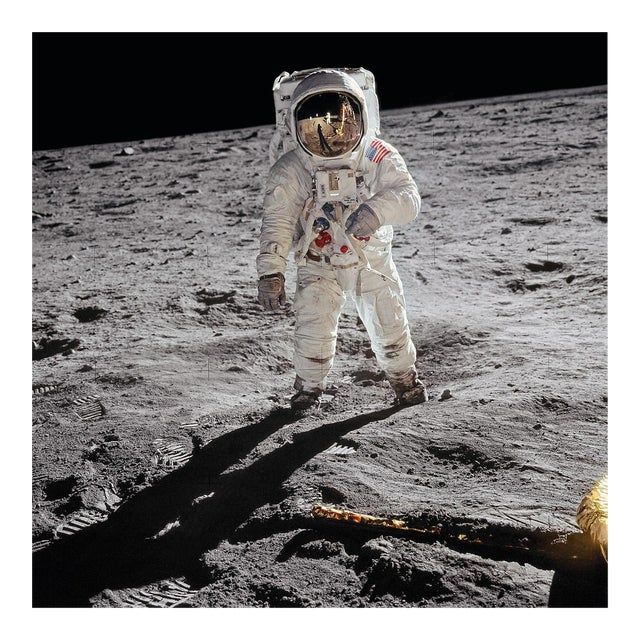 Buzz Aldrin. Apollo 11. 'A Man on the Moon' Exclusive Art Print by TASCHEN Books, Autographed by Buzz Aldrin For Sale