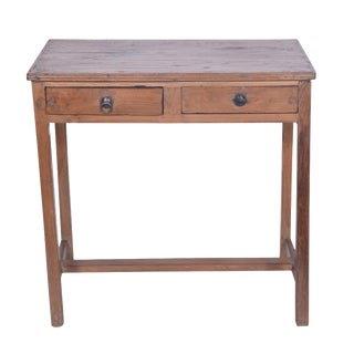 Hulda Wood Console Table