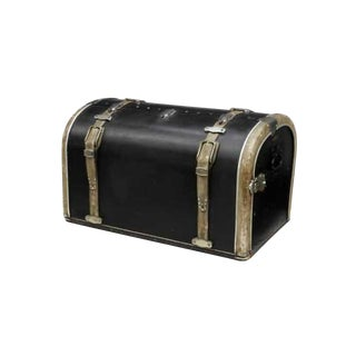 1930's Art Deco Malles Coessens Brevete Car-Mount Travel Trunk Luggage For Sale