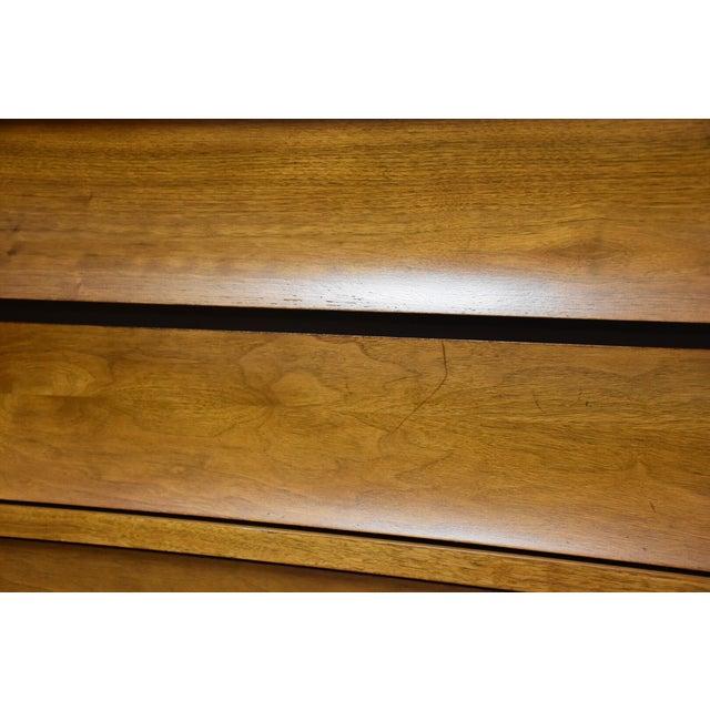 Johnson Carper Walnut and Formica Tall Dresser - Image 7 of 8