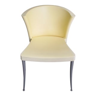 Vicente Soto Paco Capdell Xuxa Pale Yellow Chair For Sale