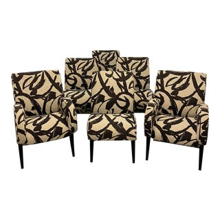 1990s Thayer Coggin Dining Chairs - Set of 6 For Sale
