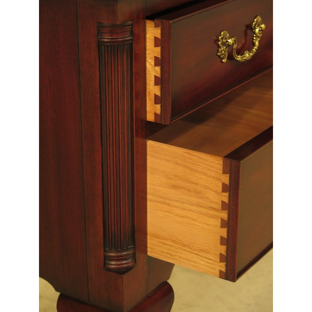 Henkel Harris Chippendale Mahogany Sideboard For Sale - Image 9 of 11