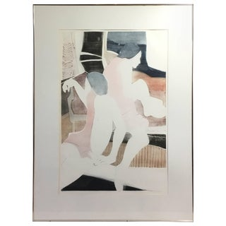 S. Marchtti Aquatint For Sale