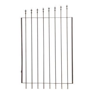 French Iron Gate For Sale